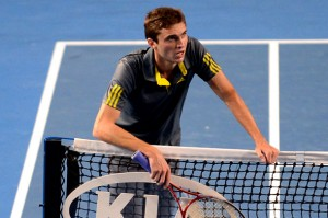 Gilles Simon Australian Open battle