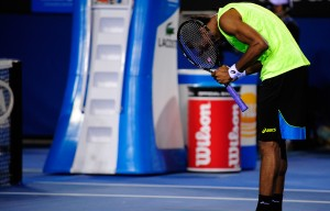 Gael Monfils Australian Open battle