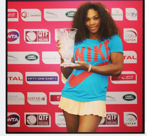 Serena number one