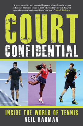 Court Confidential tennis book