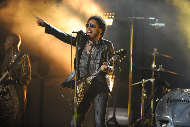 Lenny Kravitz us open