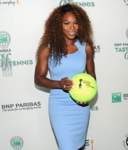 serena taste of tennis