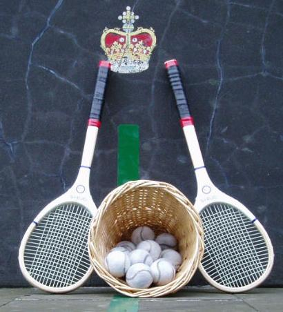 Real-tennis-rackets-balls