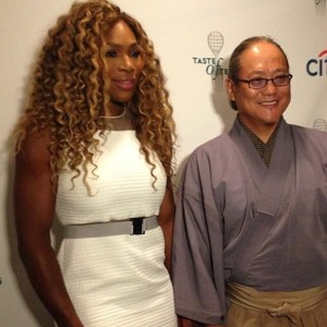 Serena Williams taste of tennis
