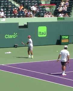 Claro, Itau, Tam no Miami Open