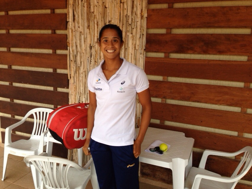 Teliana embarca para o US Open