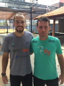 Bruno Soares e Hugo Daibert
